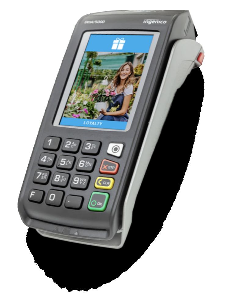 Ingenico Desk 5000 Payment terminal