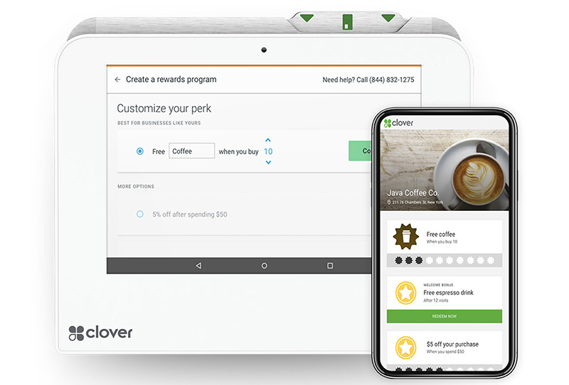 Engage with Customers Using Clover MIni