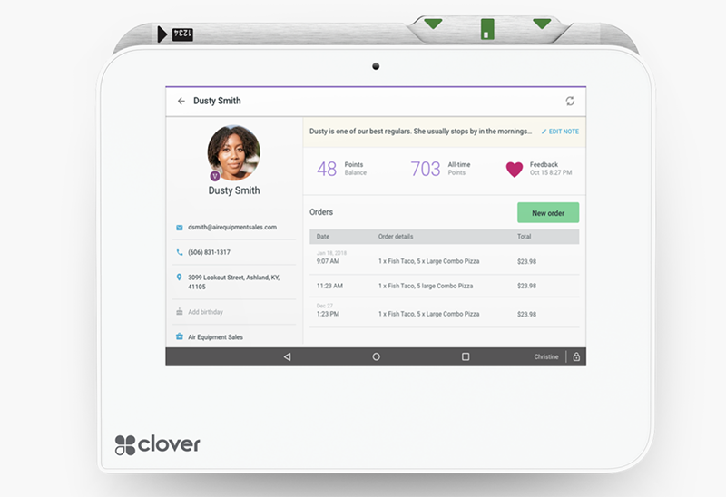 Build Customer Loyalty with Clover MIni